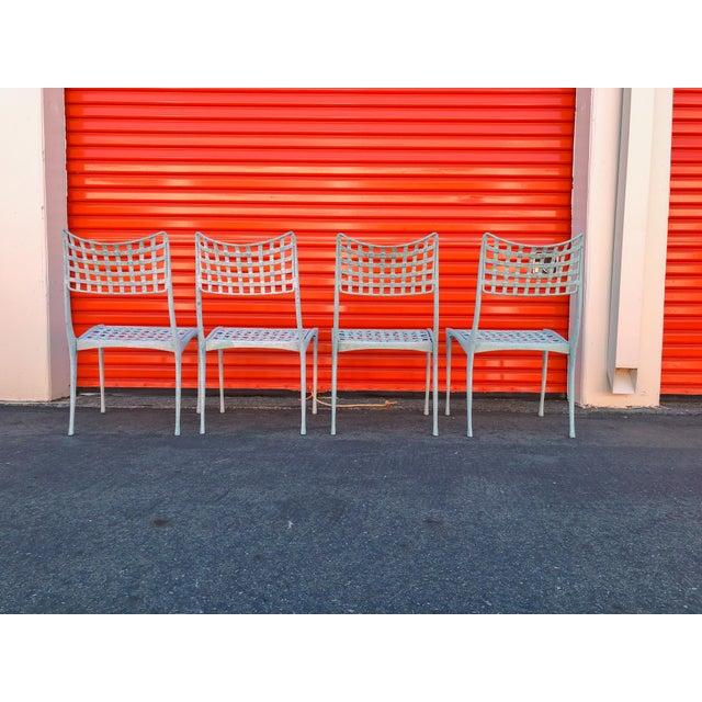 Dan Johnson Brown Jordan Sol Y Luna Patio Chairs - Set of 4 For Sale In Sacramento - Image 6 of 12