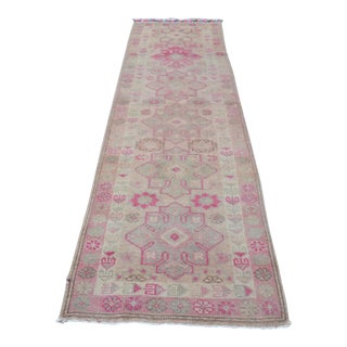 Antique Handwoven Antolian Turkish Runner - 2′8″ × 11′