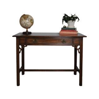 Kittinger Colonial Williamsburg Adaptation Mahogany Writing Desk For Sale
