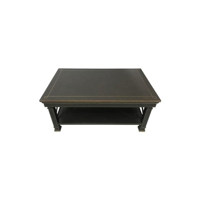 1990s Hand Painted Coffee Table in Ebney For Sale - Image 5 of 6