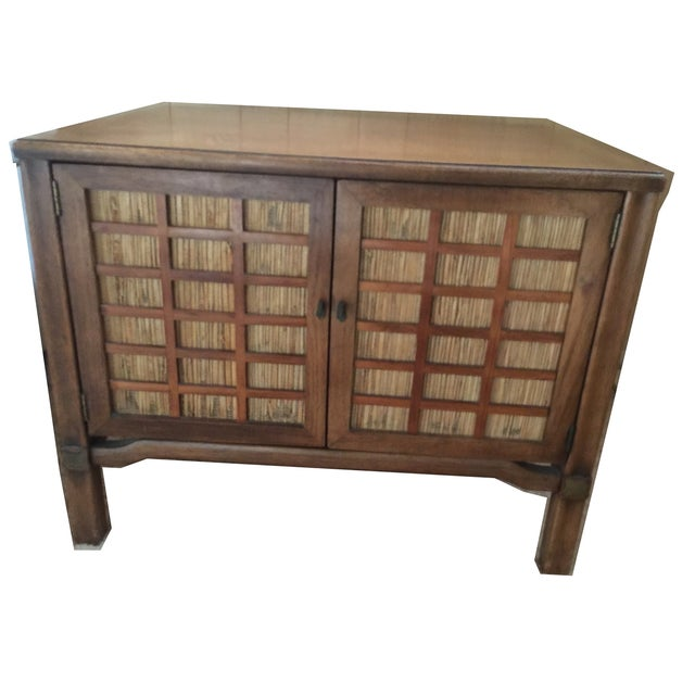 Mid-Century Modern Square Commode - Image 3 of 5