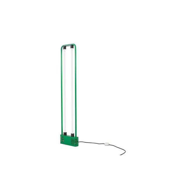 Gian Nicola Gigante Green Neon Floor Lamp For Sale - Image 4 of 8