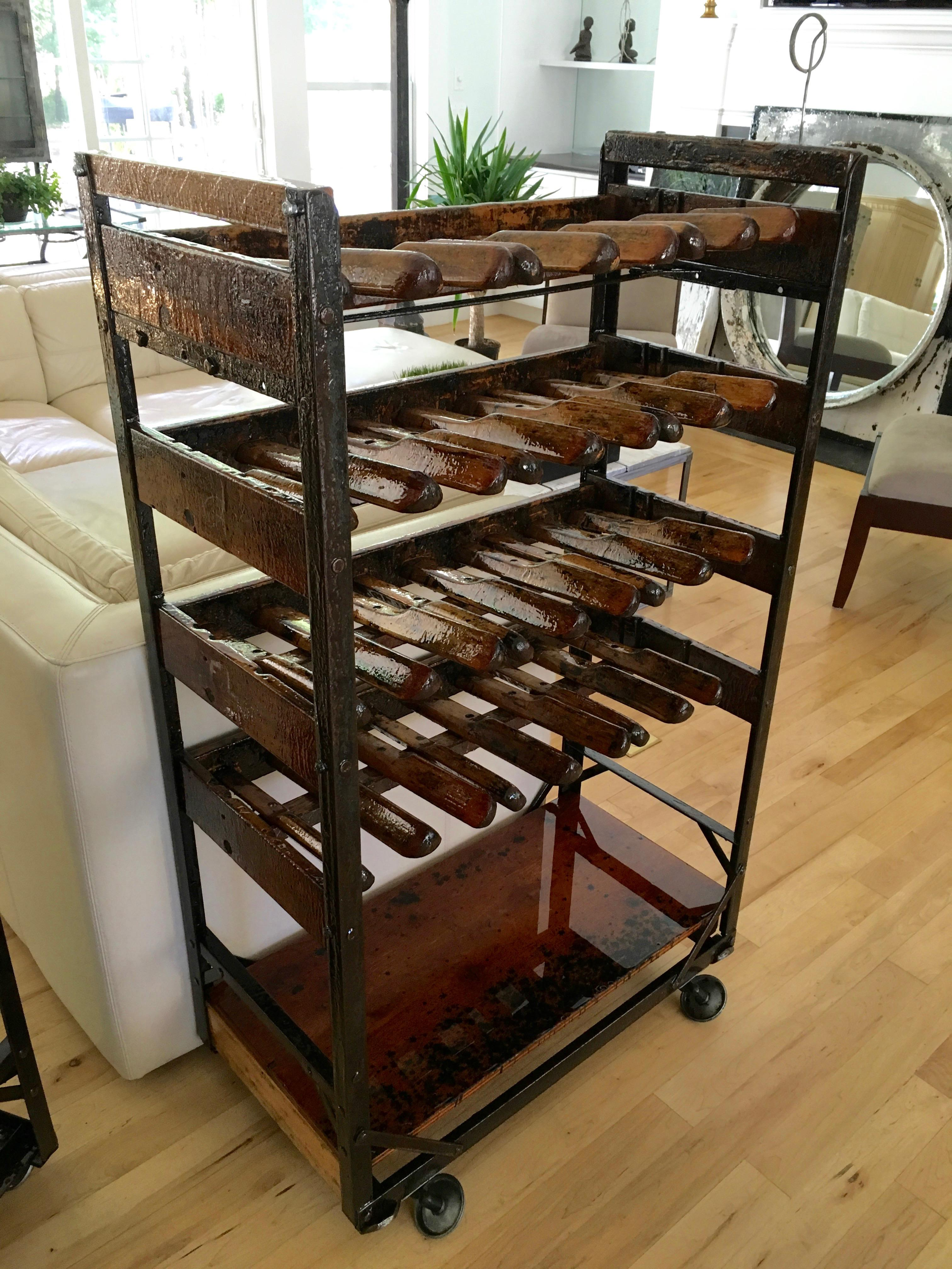 Vintage Shoe Rack Turned Wine Rack Chairish