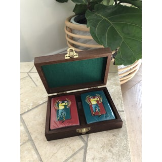 Vintage Golf Motif Playing Cards Set Preview