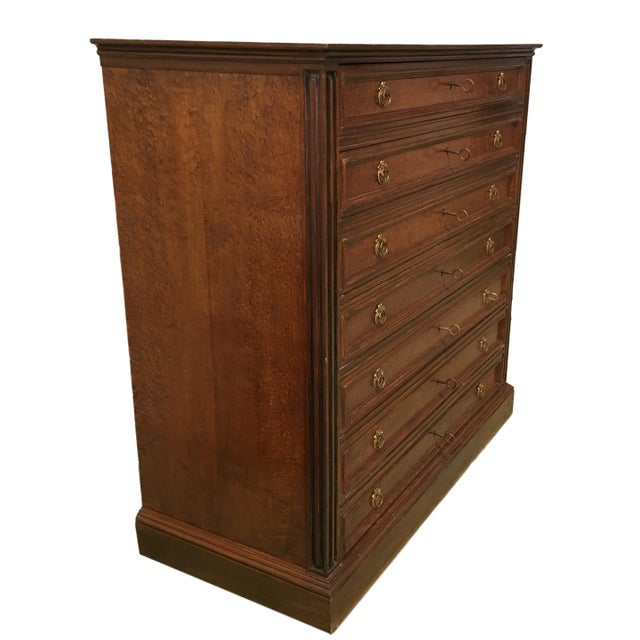 1910s 20th Directoire-Style Chest of Seven Drawers With Bronze Pulls, France For Sale - Image 5 of 11