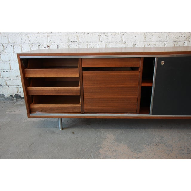 George Nelson for Herman Miller L-Shaped Executive Desk, 1950s For Sale In South Bend - Image 6 of 13