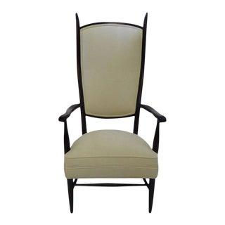 1950s Mid-Century Paolo Buffa Style Chieftain Armchair