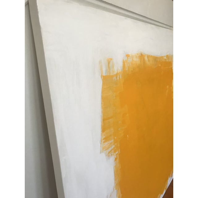 "2020s Sarah Trundle ""Yellow"" Contemporary Abstract Painting For Sale - Image 5 of 5"