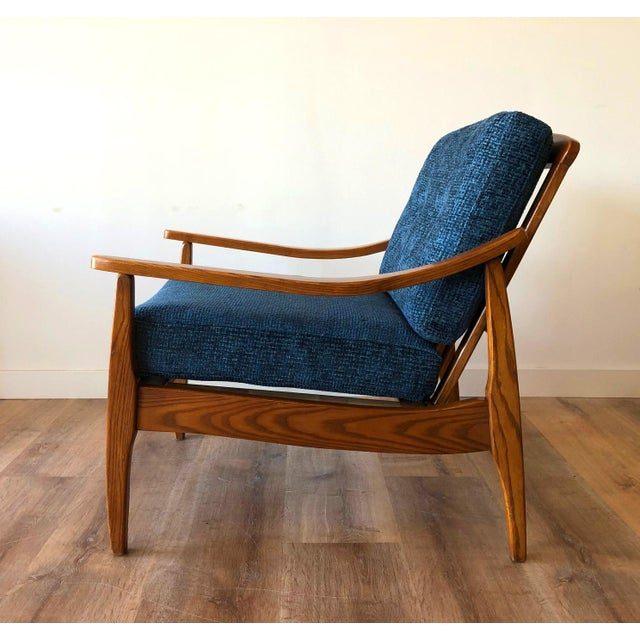 Mid-Century Modern Side Chair For Sale - Image 11 of 13