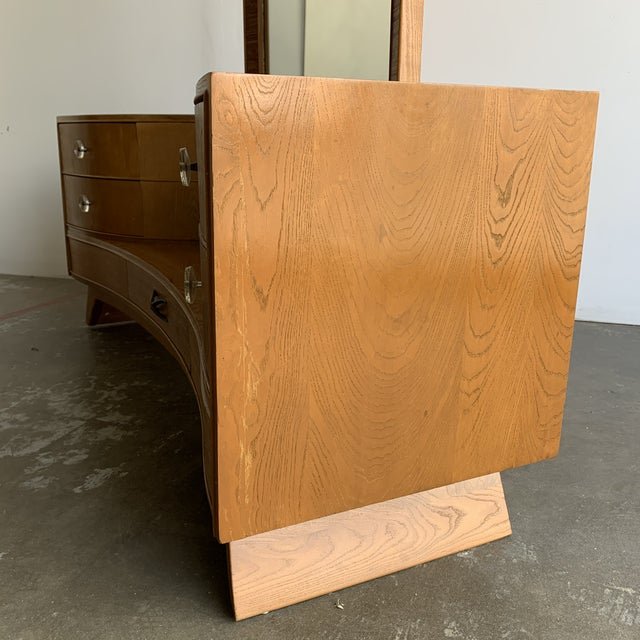 1950s Paul Frankl for Brown and Saltman Vanity For Sale - Image 5 of 13