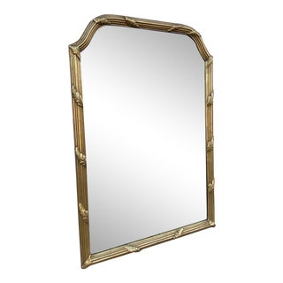 1960s La Barge Mirror With Acanthus Motif For Sale