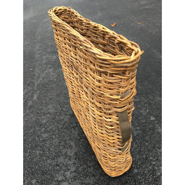 Vintage French Champagne Handled Basket - Image 3 of 5
