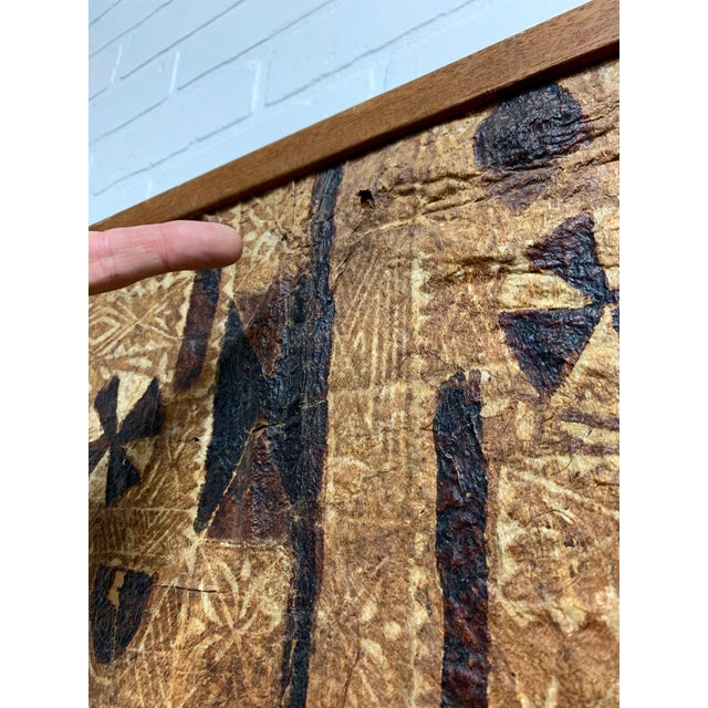 South Pacific Bark Cloth Design For Sale - Image 10 of 13