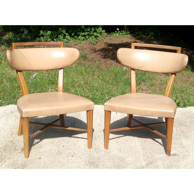 Mid-Century Slipper Chairs by Drexel - A Pair - Image 4 of 5
