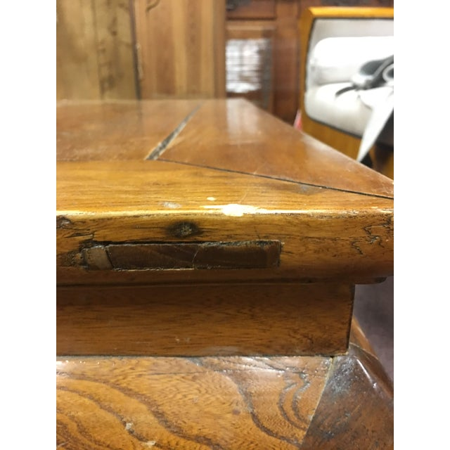 20th Century Chinese Elmwood Coffee Table For Sale - Image 10 of 11