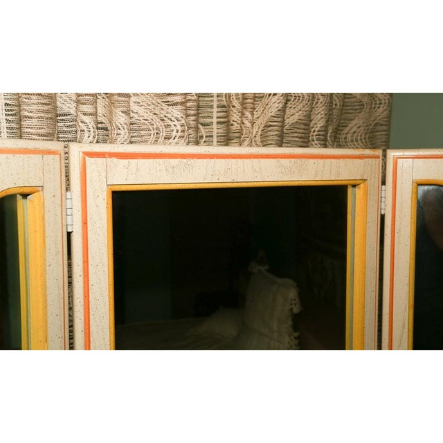 Mid-Century Tri-Fold Mirrored Screen For Sale In Washington DC - Image 6 of 11