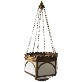 3 Large Gothic Chandeliers For Sale