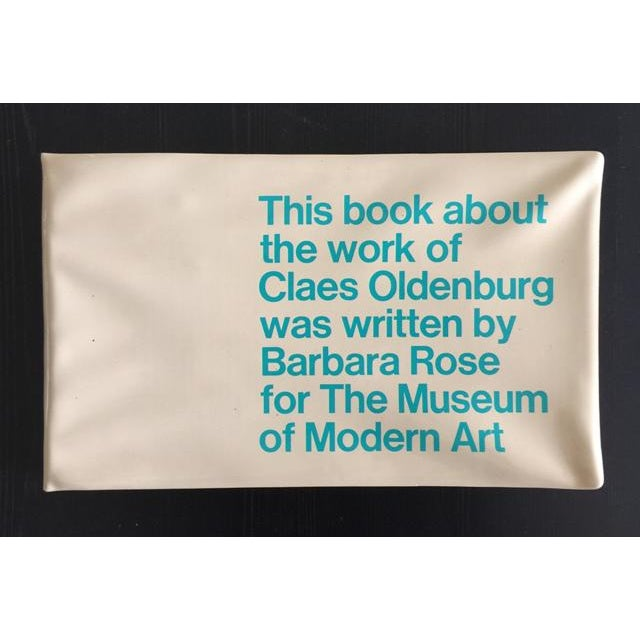"1969 Claes Oldenburg ""Soft Sculpture"" Exhibition Catalog - Image 2 of 11"