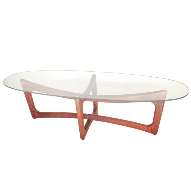 Brown Adrian Pearsall Coffee Table For Sale - Image 8 of 8