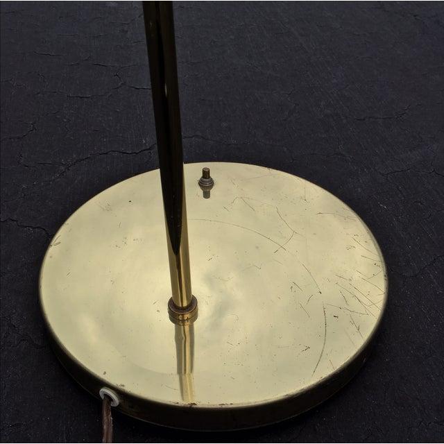Mid-Century Brass & Acrylic Floor Lamp - Image 9 of 9