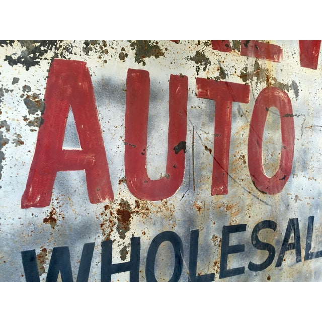 Vintage Auto Trade Sign - Image 9 of 11