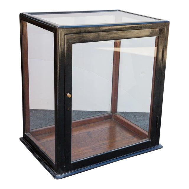 Ebonized Curio Cabinet For Sale