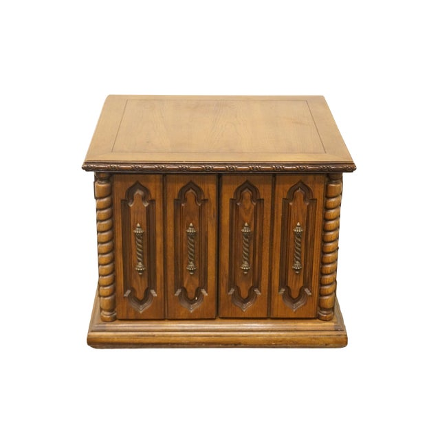 20th Century Italian Lane Furniture Commode For Sale