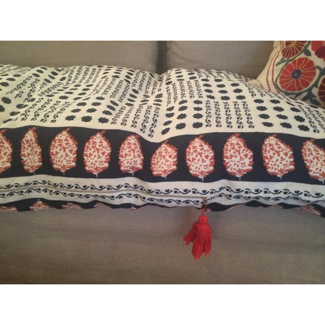 Sister Parish Moroccan Day Bed Cushion For Sale In Los Angeles - Image 6 of 10