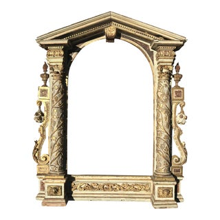 Italian Neoclassical Architectural Frame For Sale