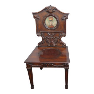Theodore Alexander Althrop Collection Griffin Crest Accent Chair French Country For Sale