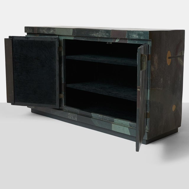 Abstract Pierre-Elie Gardette Credenza For Sale - Image 3 of 9