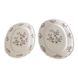 Vintage Hutschenreuther Platters - a Pair For Sale