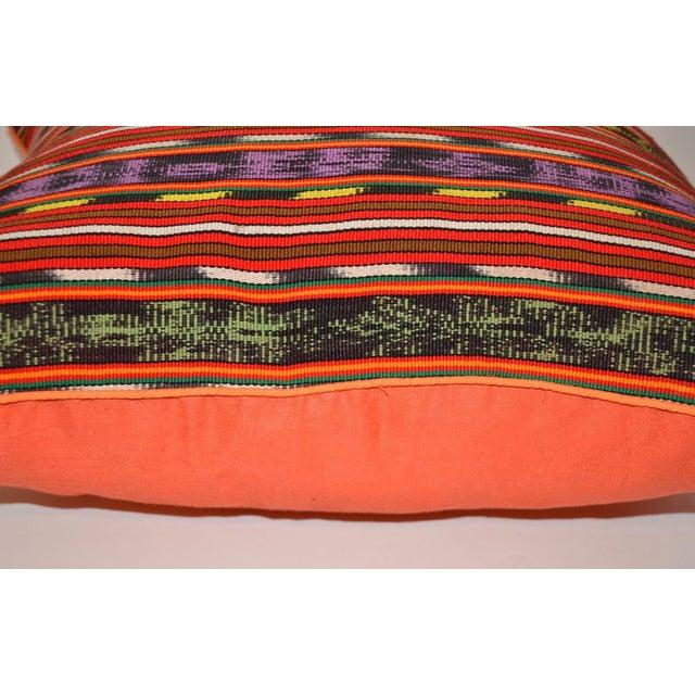 Guatemalan Textile Pillow - Image 2 of 2
