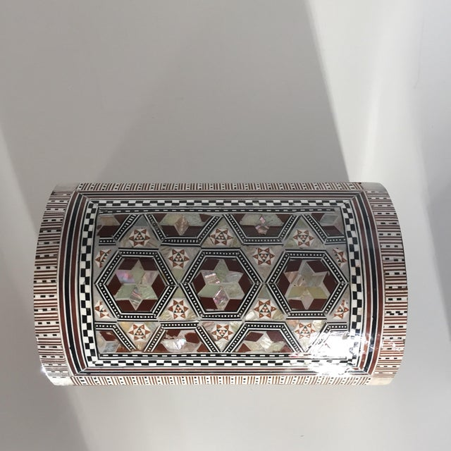 Bone & Mother of Pearl Inlaid Box - Image 2 of 5