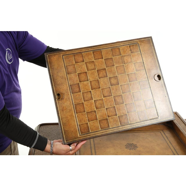 Sienna Maitland Smith Game Table For Sale - Image 8 of 13