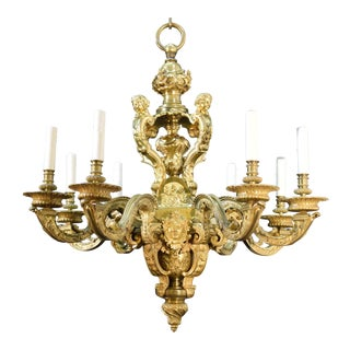 Antique Chandelier in the Louis XIV Style For Sale