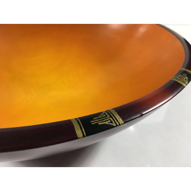 Mid-Century Modern Peggy Potter Wooden Bowl For Sale In Detroit - Image 6 of 11