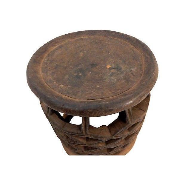 African Diamond Bamelike Stool - Image 3 of 7