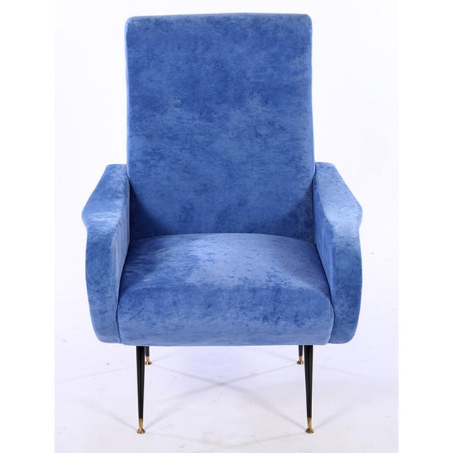 Marco Zanuso Style Lady Chairs - A Pair - Image 4 of 6