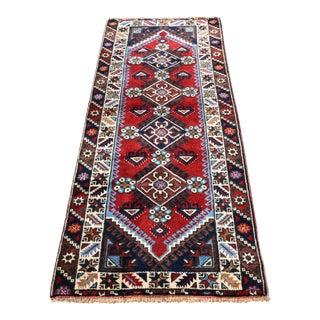 Vintage Turkish Oushak Handmade Runner - 2′6″ × 6′4″ For Sale