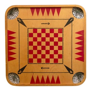 1960s Vintage Carrom Board For Sale
