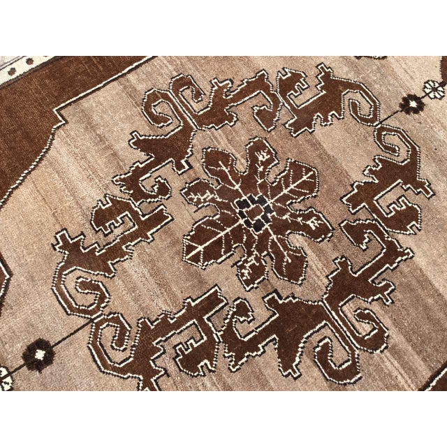 Brown Turkish Area Rug For Sale In Raleigh - Image 6 of 9