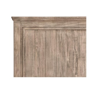 Solid Pine Wood Frame Queen Bed Preview