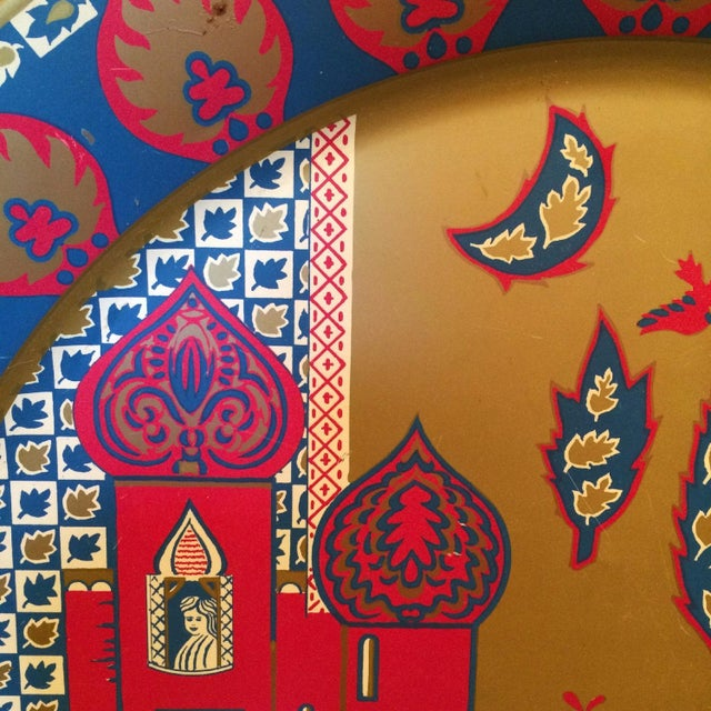 Taj Mahal Decorative Metal Plate - Image 4 of 4