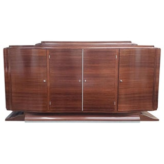 1950s Art Deco Rosewood Buffet, Mid-20th Century For Sale