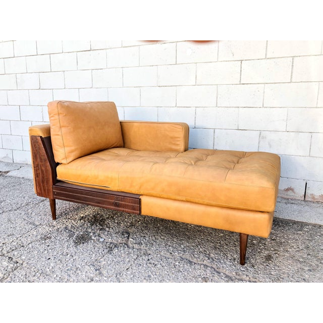 1960s Italian Art Deco Cowhide And Leather Chaise Lounge Chairish