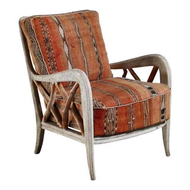 Guglielmo Ulrich Chair, Italy, 1940s For Sale