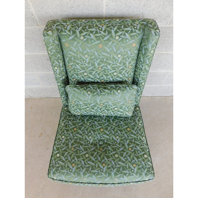 Baker Regency Style Slipper Chair For Sale - Image 9 of 13