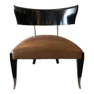 New Klismos Style Chair by Caracole For Sale