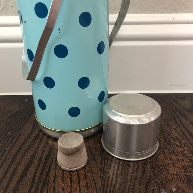Americana Vintage Thermos and Mug Set For Sale - Image 3 of 8